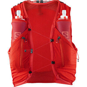 Salomon Adv Skin 12 Backpack Set fiery red